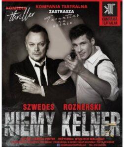 Teatralne Spotkanie z Gangsterką - plakat